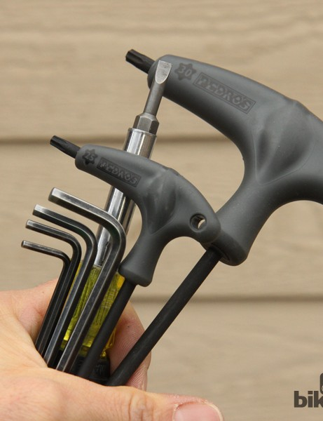 How many tools should be required to work on your bike? The fewer the better, I say