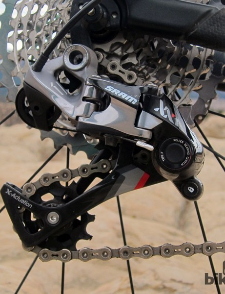 SRAM once championed the use of T25 Torx head bolts across the board on its XX group. The new XX1 is a step backward in that respect as it now requires multiple tools to do the same job that one did before
