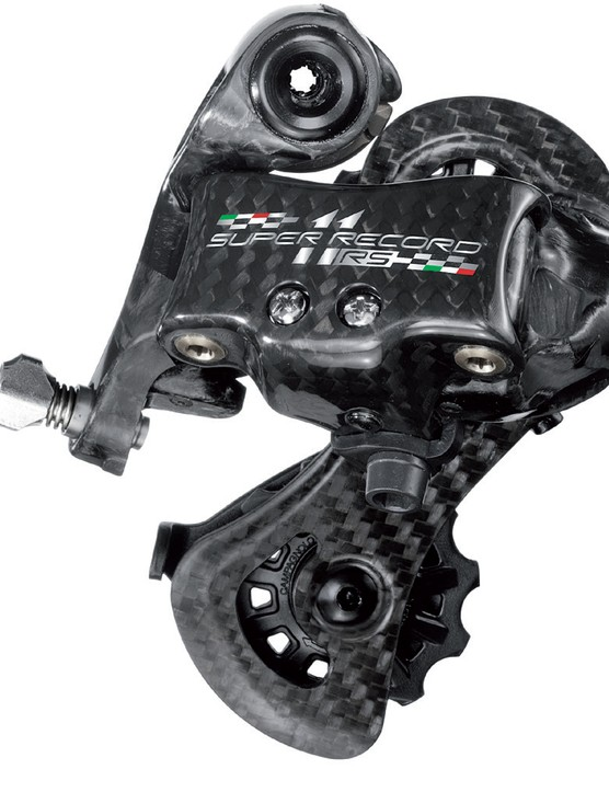 The Campagnolo Super Record RS rear derailleur