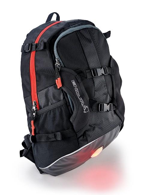 The Endura Back Pack uses padded shoulder straps for added comfort