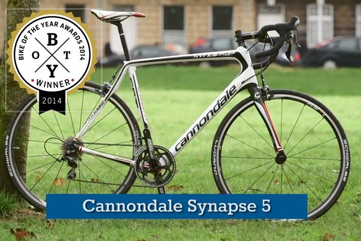 The Cannondale Synapse 5: Bike of the Year 2014 winner