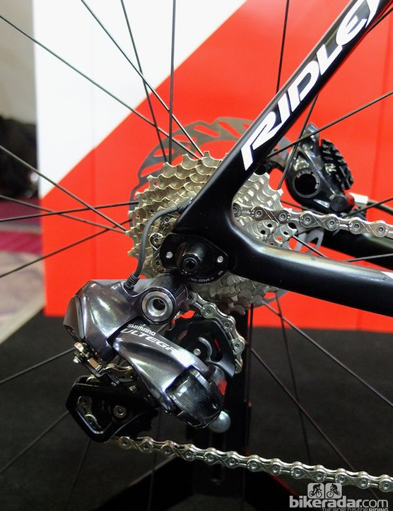 Ultegra Di2 promises fast and accurate shifting in all conditions