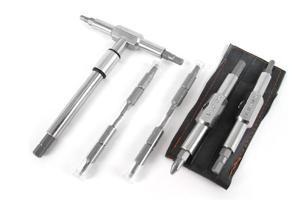 Fix It Sticks plans to introduce a version of the popular two-piece Fix It Sticks with replaceable bits as well as a T-way wrench, also with replaceable bits, suitable for home mechanics