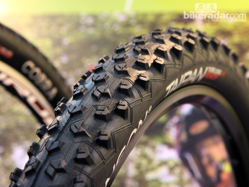 Launched at the Taipei Cycle Show was Hutchinson's new Taipan cross-country tyre