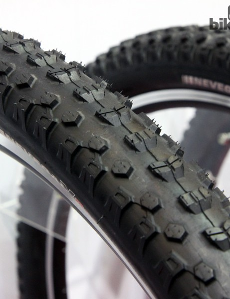 Kenda's Nevegal X Pro isn't a new tyre but it's still worth mentioning. The tread is based on the stalwart Nevegal but with a faster-rolling design along with variations for downhill and freeride applications