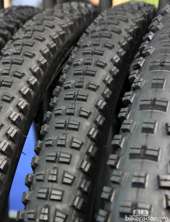 WTB will offer a similar tread in 27.5in and 29in mountain bike sizes with the same 'dry to damp', 'hardpack to loam' intended ground conditions. Claimed weight for the 29x2.25in tubeless-ready TCS-Light version is 795g with a retail price of US$69.95