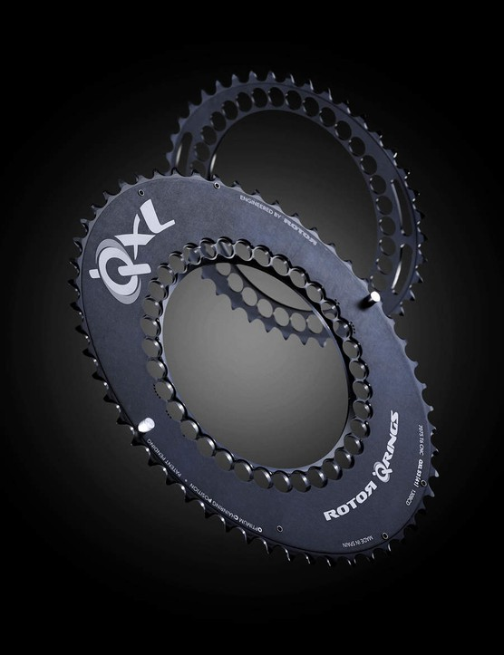 Rotor Q-XL rings are even more ovalised than standard Q-Rings
