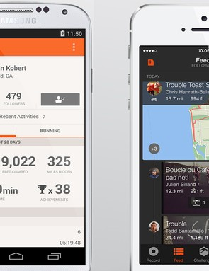 Strava launched a revamped app today with more social features