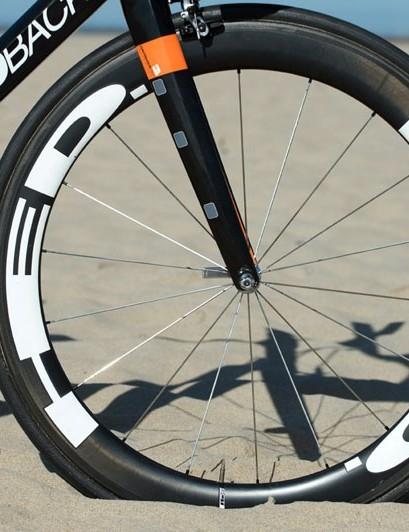 Production Diamondback Podium Optum bikes will come with HED Stinger carbon tubulars
