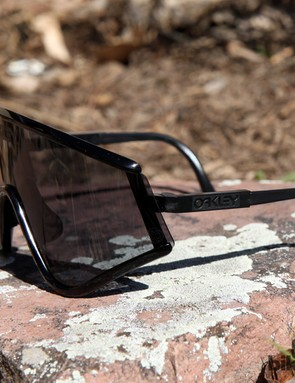 The Oakley Eyeshade may look strange today but it was revolutionary when launched in 1984. The generous coverage offered heaps of protection and they were very comfortable and secure as compared to much of what was available back in the day