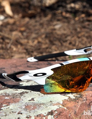 Whether or not you remember Oakley's early days, we think these Heritage Collection Radarlock glasses look great