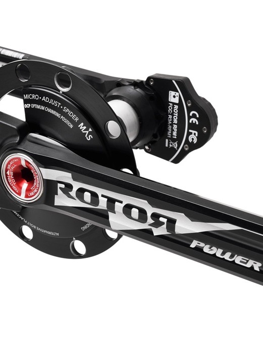 Rotor unveiled its power meter - since updated - at Eurobike 2012