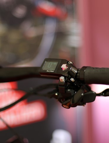 Controls at the handlebar are clean and effective