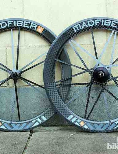 Mad Fiber wheels: radical design