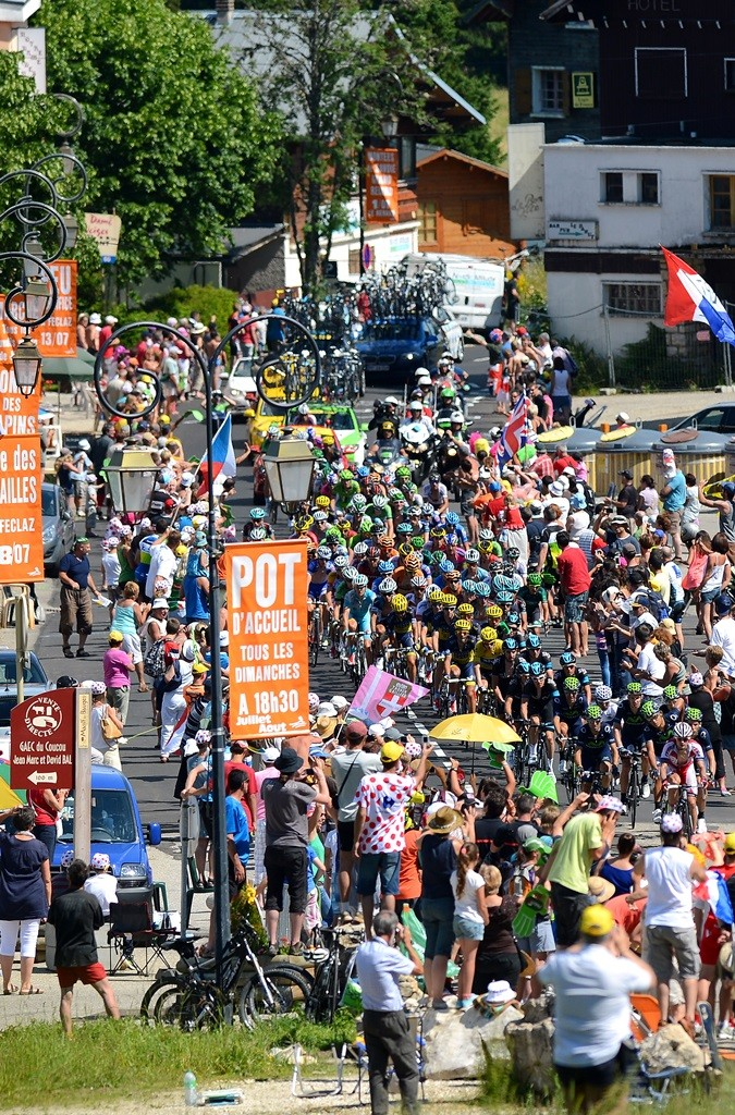 Ride through the Tour crowds for Marie Curie Cancer Care