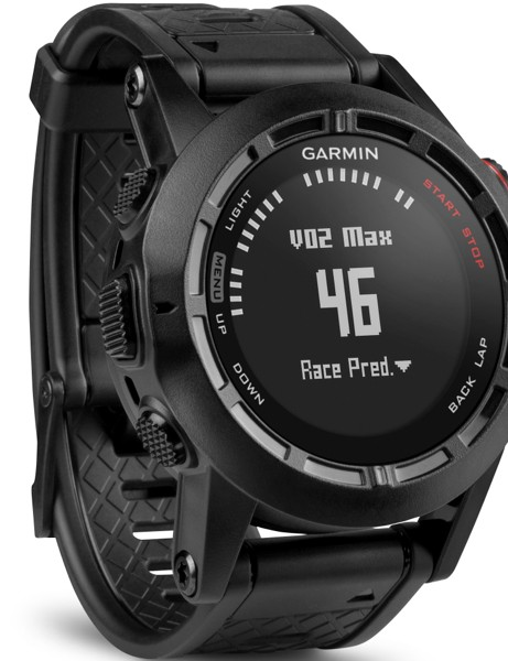 Garmin Fenix 2 gives estimates of VO2 Max based on pace and heart rate