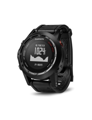 Garmin Fenix 2 has a barometric altimeter as well as a GPS receiver