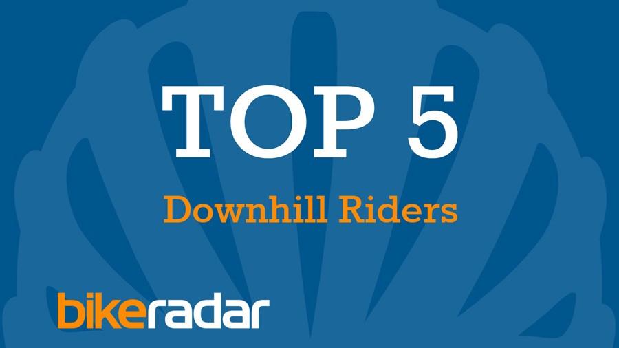 Top five mountain bike downhillers