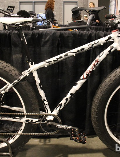 Capitol Bicycle Company designed this particular fat bike for aggressive offroad riding