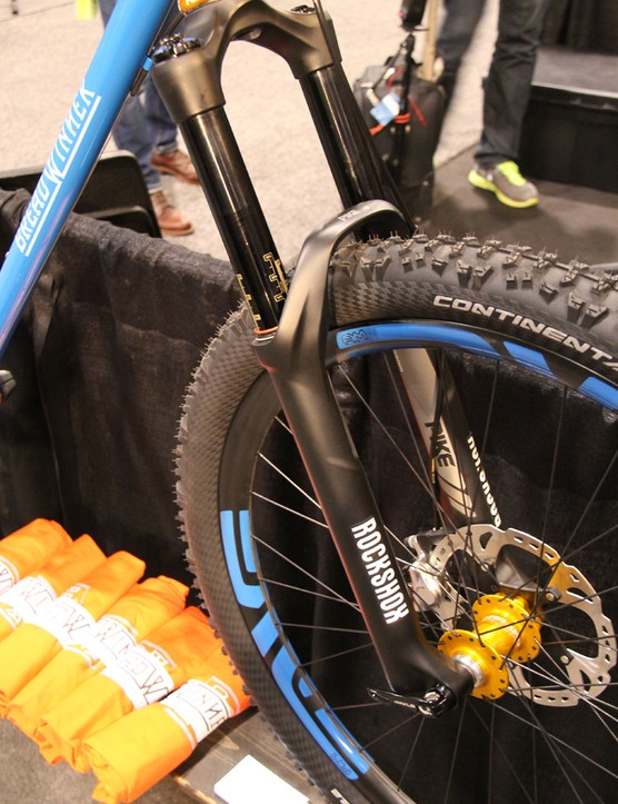 The Bad Otis is designed around a 160mm travel suspension fork