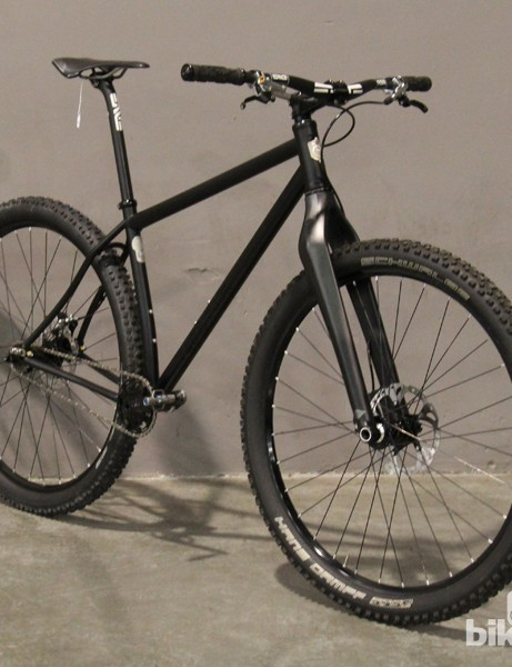 Kristofer Henry of 44 Bikes designed this 29er singlespeed for the trail he most frequently rides