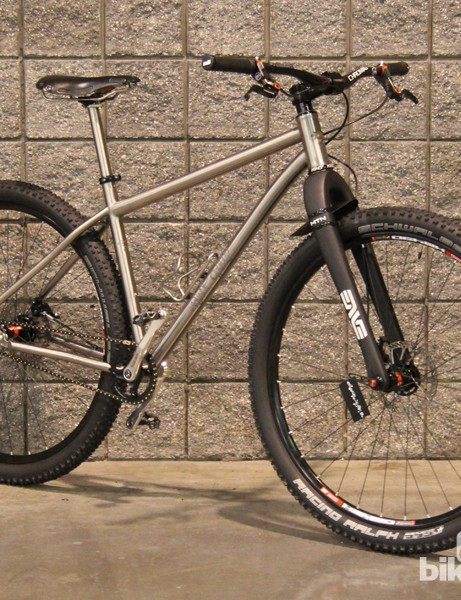 The Michaud is a very traditional looking 29er, especially for Black Sheep