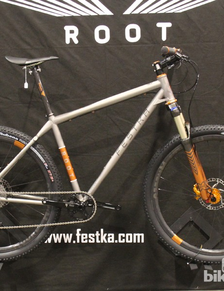 Festka is a custom-frame-building company that had hails from the Czech Republic