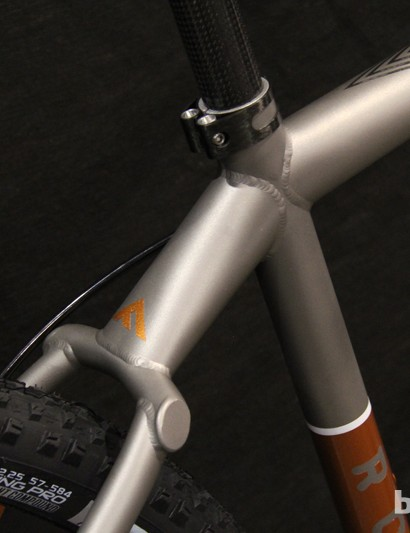 The Festka Root's seatstays