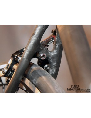 Why run the seatstay bridge straight across when you can build it at an angle?