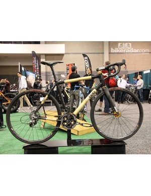 Boo Bicycles continues to champion the merits of its hybrid carbon fiber and bamboo frames. According to Boo, the bamboo tubes lend an ultra-smooth ride quality that carbon fiber supposedly can't match