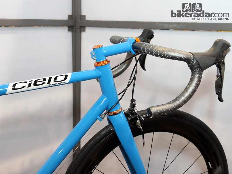Cielo's sparse badging actually seems to make a bigger impact as compared to some production machines that are plastered with manufacturer logos