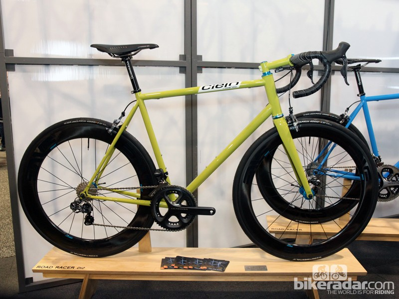 Cielo will offer the new Road Racer in either mechanical or electronic drivetrain-compatible configurations
