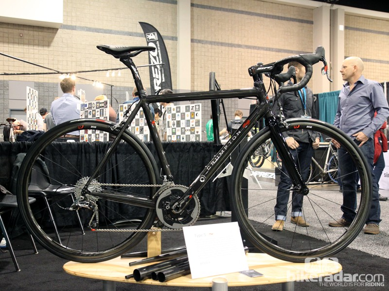 Crumpton Cycles' newest and most advanced carbon chassis is the Type 5, built completely in-house including the molded carbon fiber tubes and the hand-wrapped joints