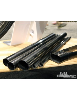 Crumpton Cycles is molding its own Type 5 frame tubes in-house. The company will eventually mold all of its frame tubing for the SL model, too