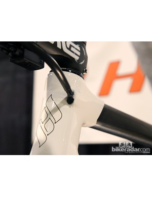 Ultra-clean internal routing on the new Holland Cycles HC