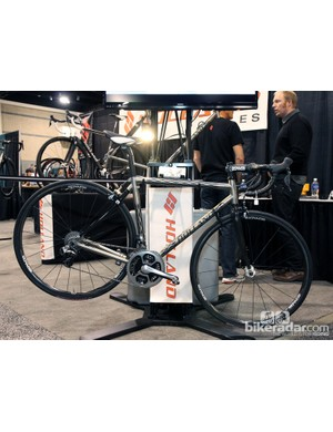 Holland Cycles principal Bill Holland says that his most popular model is the Jet travel bike