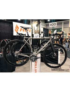 If you want a more traditional welded titanium road bike, Holland Cycles can do that, too