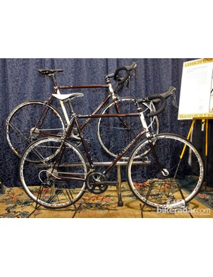 Rich Adams is an alumnus of Lehigh University and built these special-edition bikes as a way to raise money for his former Materials Science and Engineering department