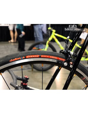 Challenge Strada open tubulars were a very common sight at this year's NAHBS