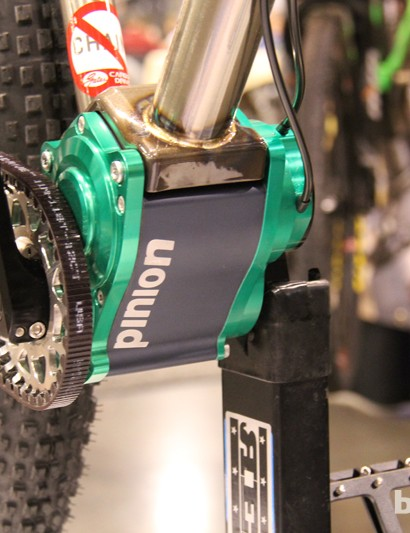 Reeb is one of the first American companies to incorporate the Pinion gearbox