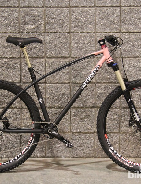 A smooth, flowing transition from the top tube to the seatstays are what Retrotecs are known for