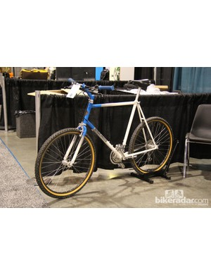Not every custom bike at NAHBS was brand new. This Steve Potts was built way back in 1987