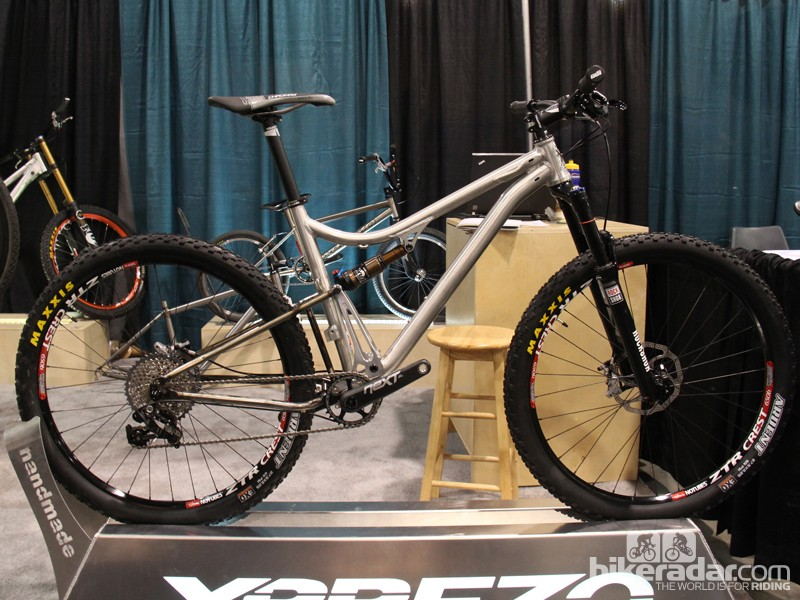 The WUUU is a 650B trail bike with 115mm of rear suspension