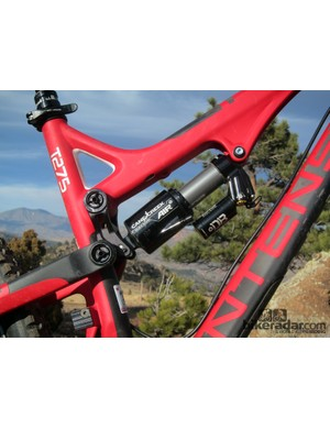 The Cane Creek DBair is available as an optional upgrade - and it delivers an incredible (and incredibly adjustable) ride