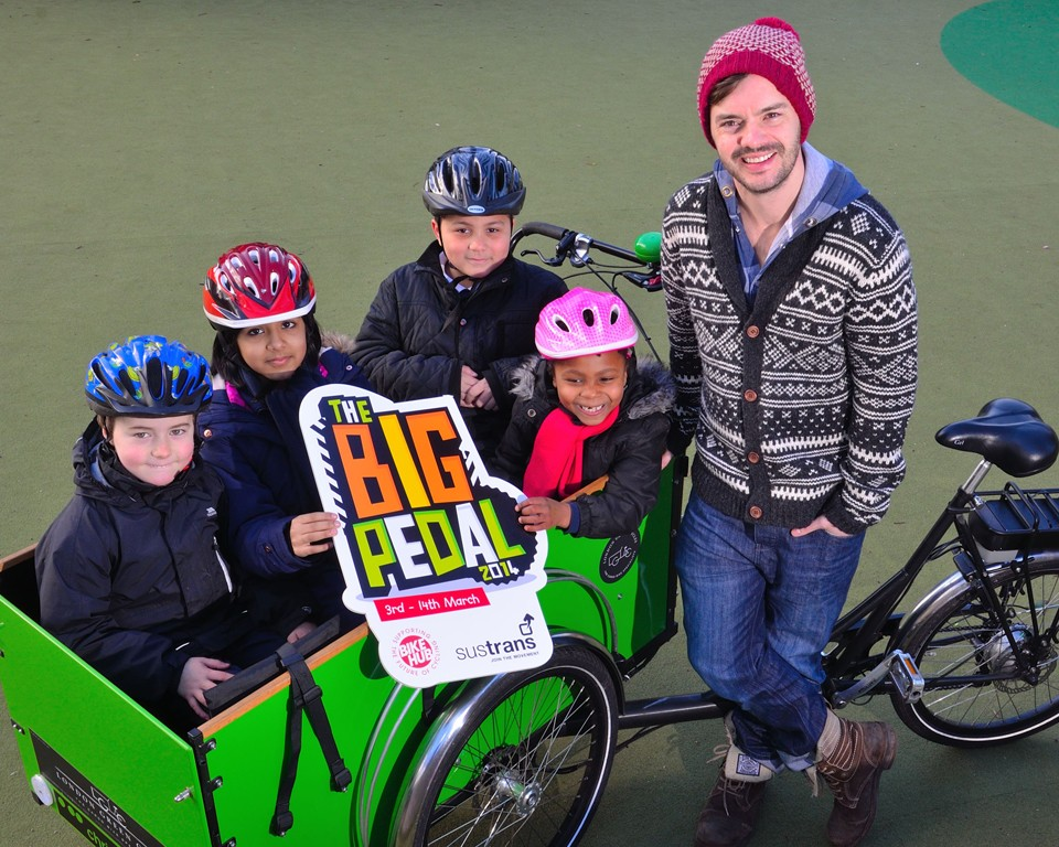 Sustrans has helped children make more than a million extra journeys by bike