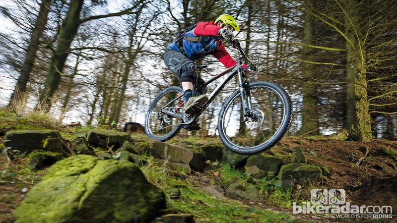 The 5-B is a fun and fast modern trail bike