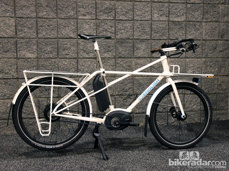 One doesn't normally think of utility bikes being beautiful but Rob English might have bucked that trend with this entry