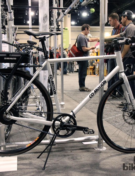 Co-Motion's CityView, augmented with a SRAM E-matic battery and hub motor