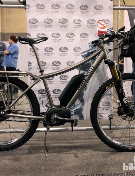 Kent Eriksen built this up as a Bosch-powered e-bike commuter for himself
