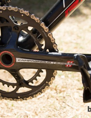 Strangely there's no SRM to be seen, even though Hansen was running a PowerControl 7 head unit